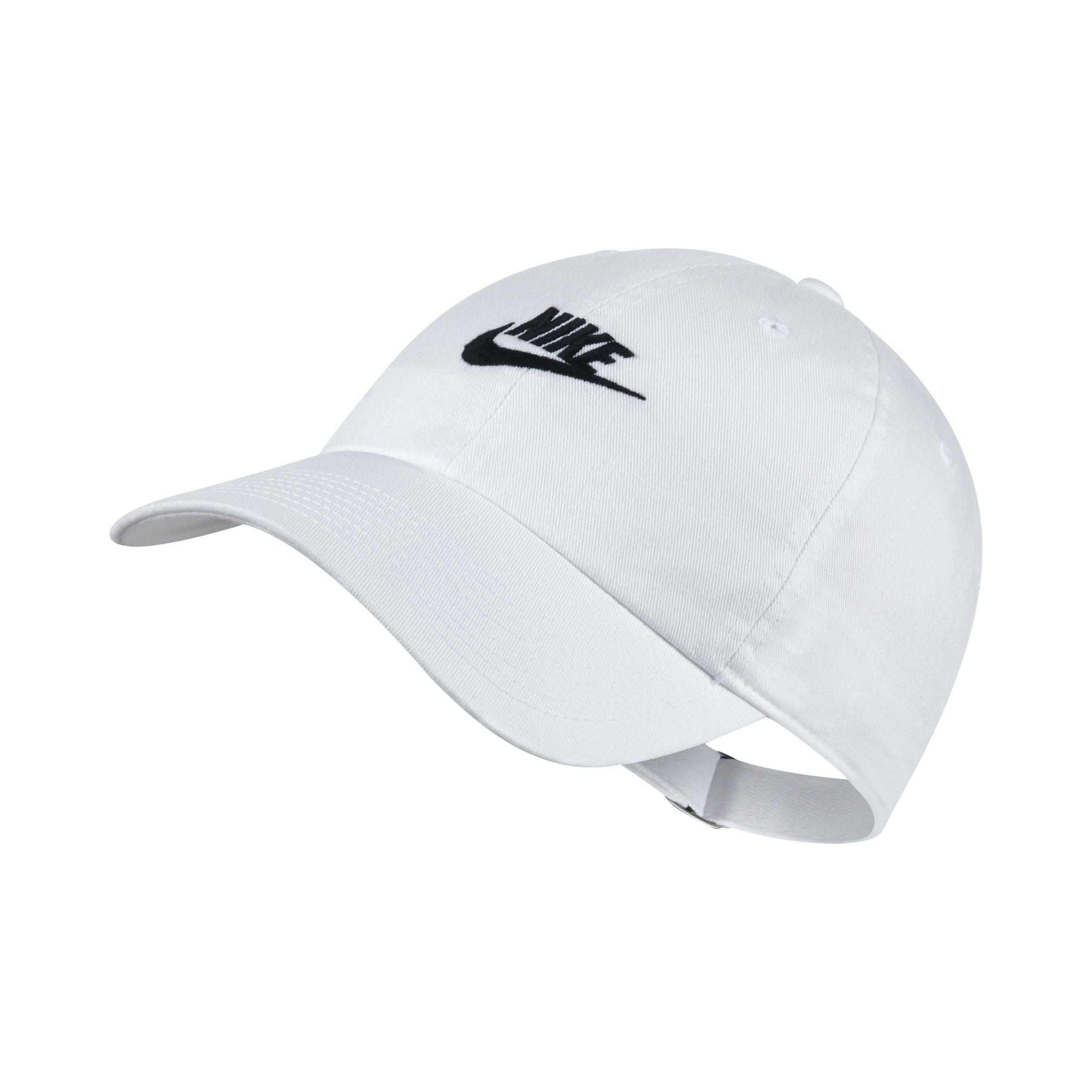 Nike Sportswear Heritage 86 Adjustable Hat in White - Lyst 7155abd8249