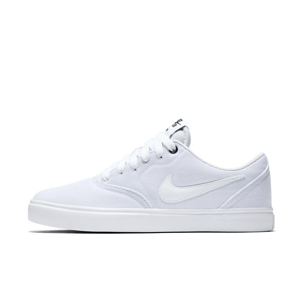6420b3024d7 Lyst - Nike Sb Check Solarsoft Canvas Women s Skateboarding Shoe in ...