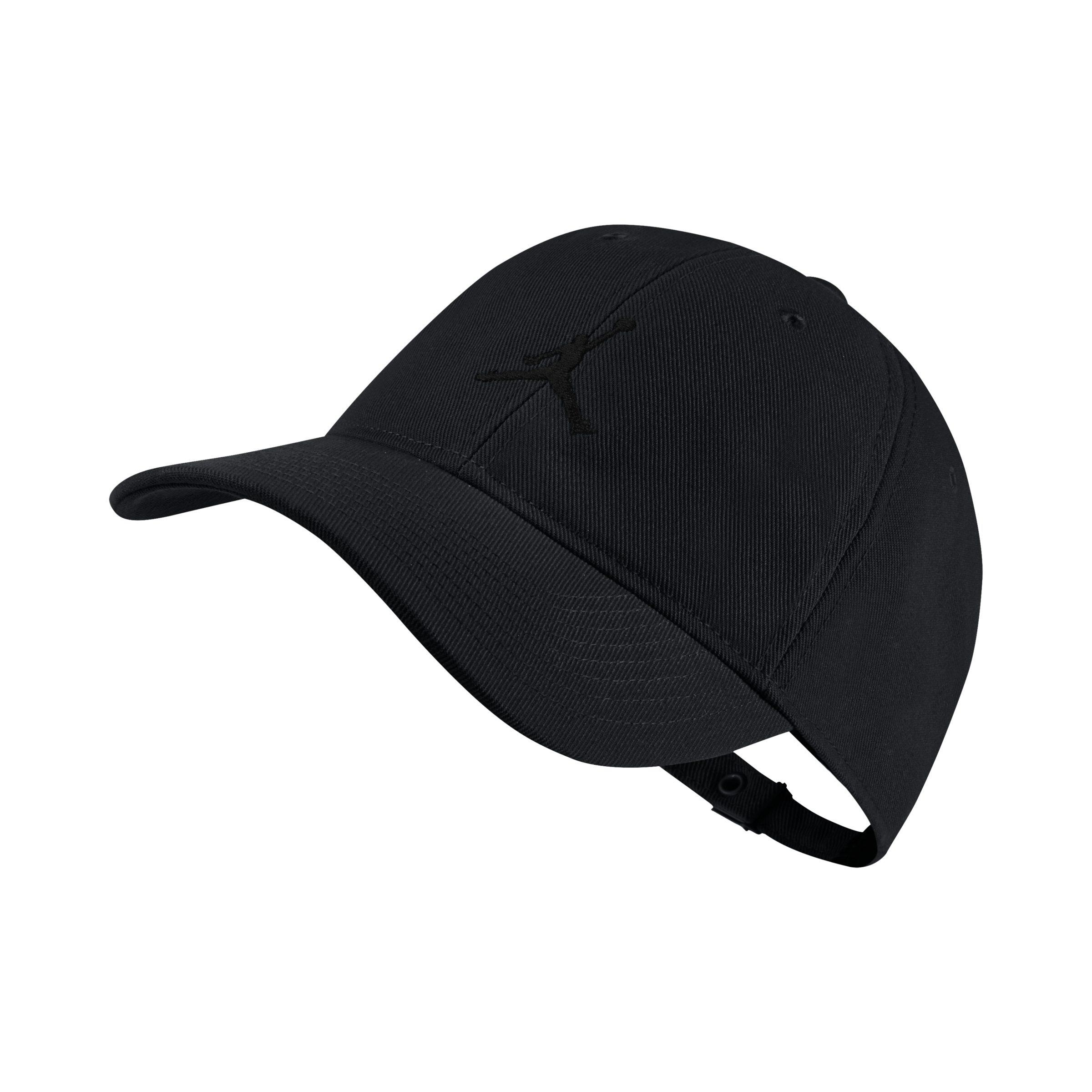 4cd5c3e46f19 Nike Jordan Jumpman H86 Adjustable Hat in Black for Men - Lyst