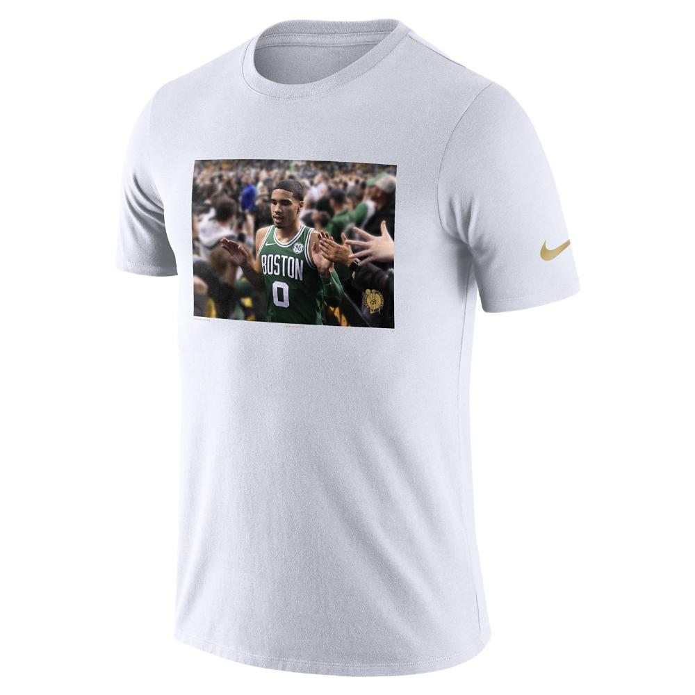 8bb507d95ed Nike Jayson Tatum Boston Celtics Dri-fit Men s Nba T-shirt in White ...