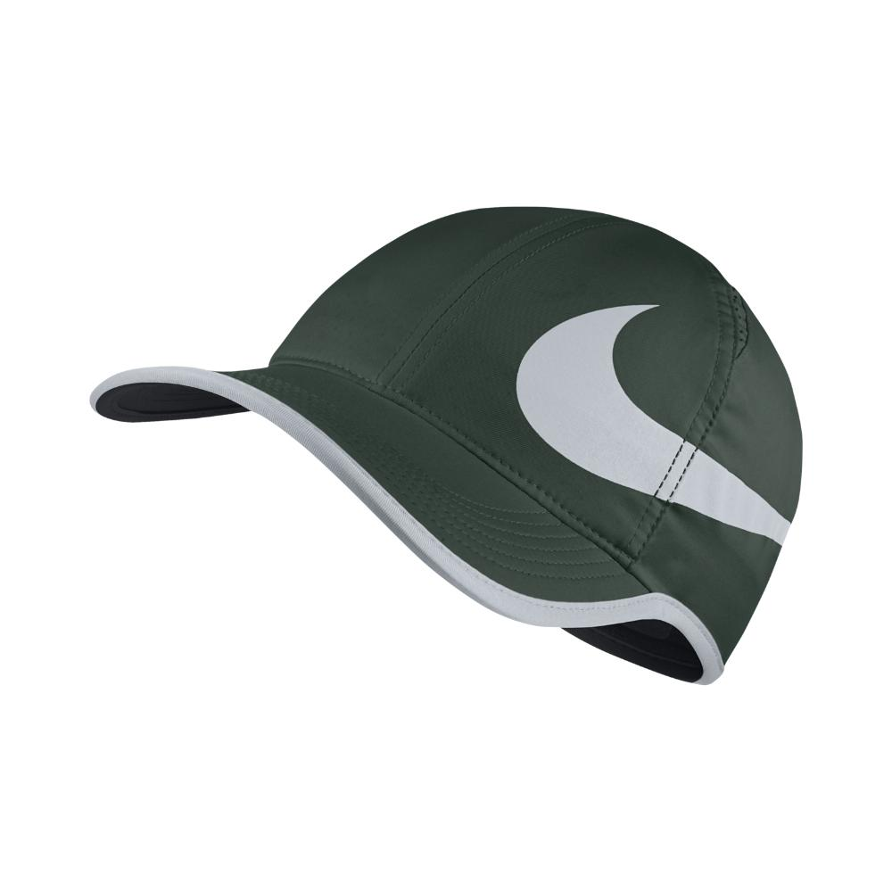 fc5960589ee52 Nike Court Aerobill Featherlight Adjustable Tennis Hat (green ...