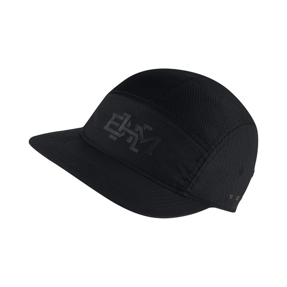 0149c4a609e195 ... coupon code for lyst jordan aw84 bhm adjustable hat by nike black in  black for men ...