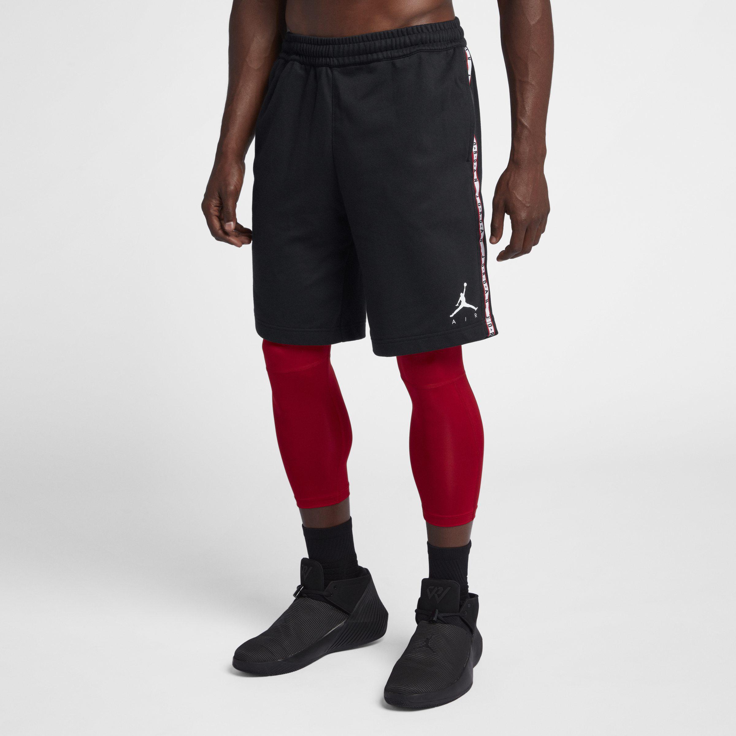 1ffb035c186 Nike Air Jordan Hbr Fleece Shorts in Black for Men - Lyst