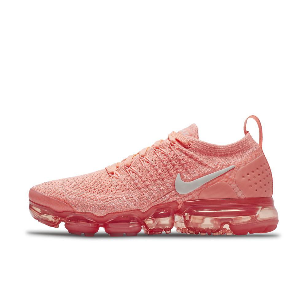 Lyst - Nike Air Vapormax Flyknit 2 Women s Running Shoe in Pink 49707ad47