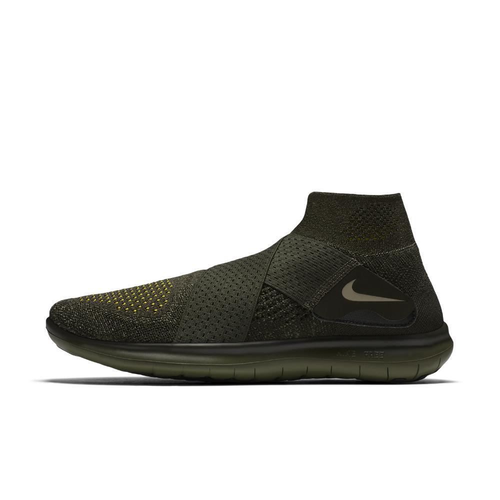bb970b52cb5 Nike - Black Free Rn Motion Flyknit 2017 Men s Running Shoe for Men - Lyst