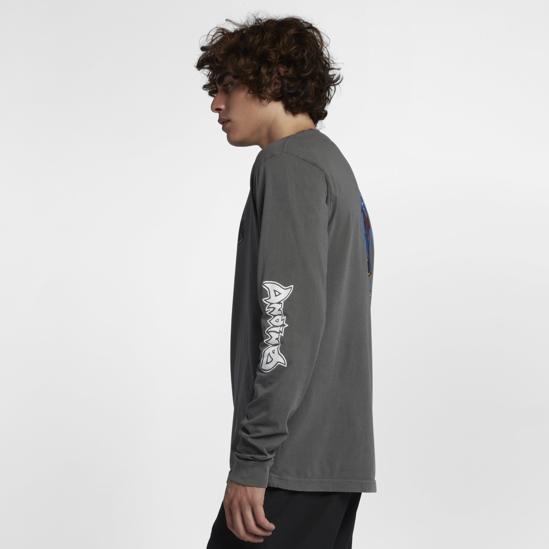 4496b0e4ed Nike Hurley Team Andino Long-sleeve T-shirt in Black for Men - Lyst