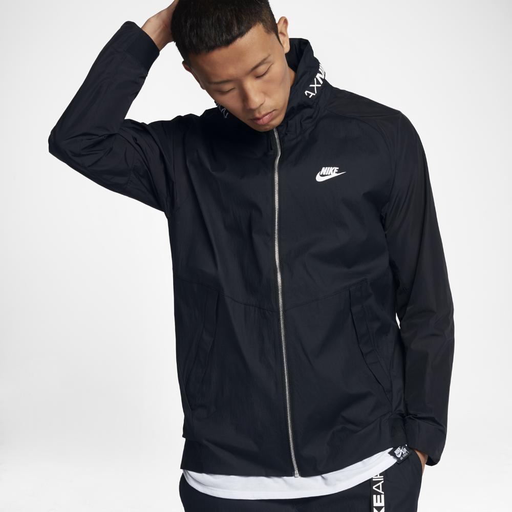 3658b992d53e5b Nike Sportswear Air Max Men s Jacket in Black for Men - Lyst