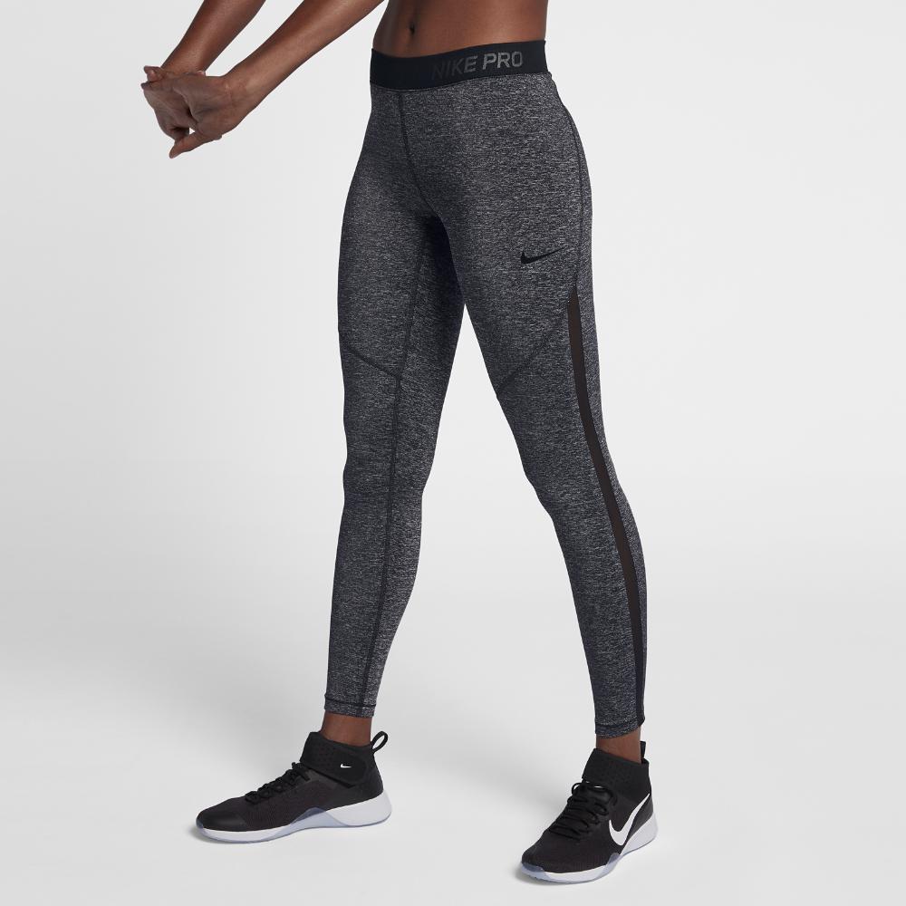 Lyst - Nike Pro Hypercool Women s Training Tights in Black 13743de43