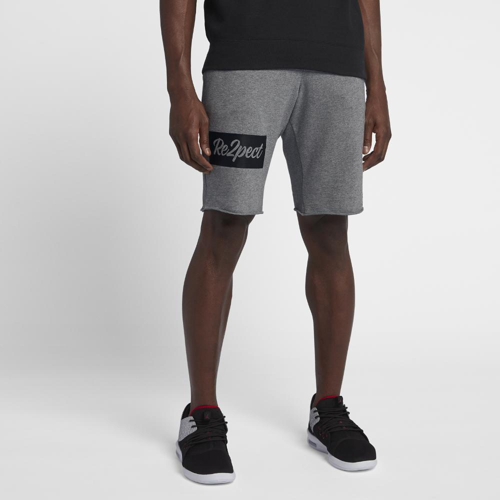 ad3c8843962 Lyst - Nike Re2pect Flight Fleece Men's Shorts, By Nike in Black for Men