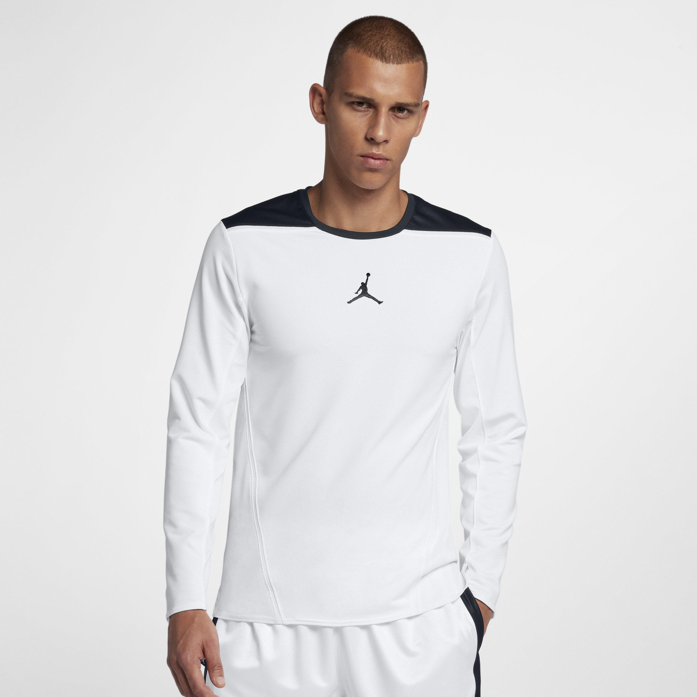 e34cd6a6750b Nike Jordan Ultimate Flight Basketball Shooting Top in White for Men ...