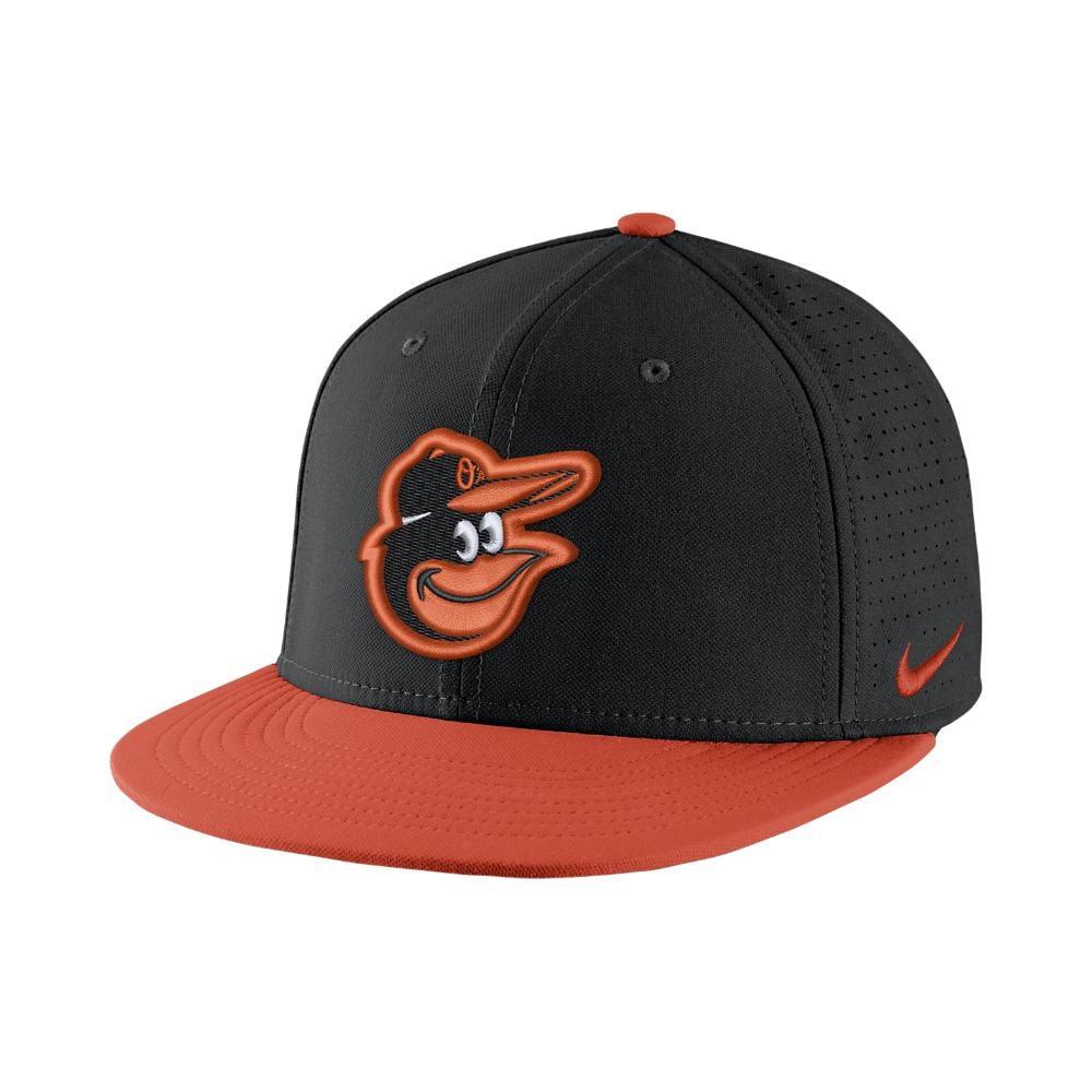 online store f3047 dfca5 Nike - Aerobill True (mlb Orioles) Adjustable Hat (black) for Men -. View  fullscreen