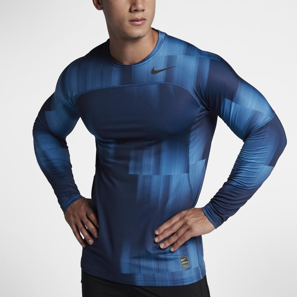 9bc9f1f42 Nike Pro Hyperwarm Fitted Mens Long Sleeve Top | Toffee Art