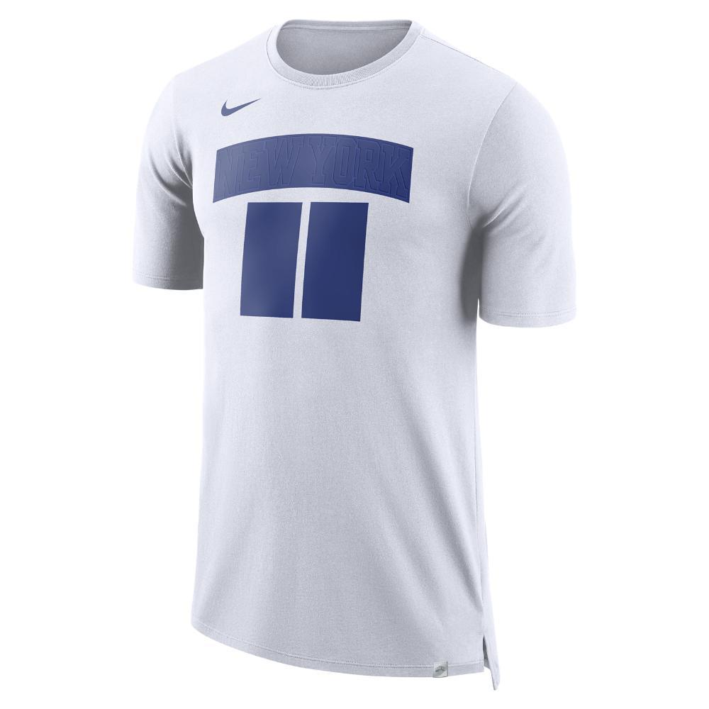 Lyst - Nike New York Knicks Dry Men s Nba T-shirt in White for Men 3d5149da5