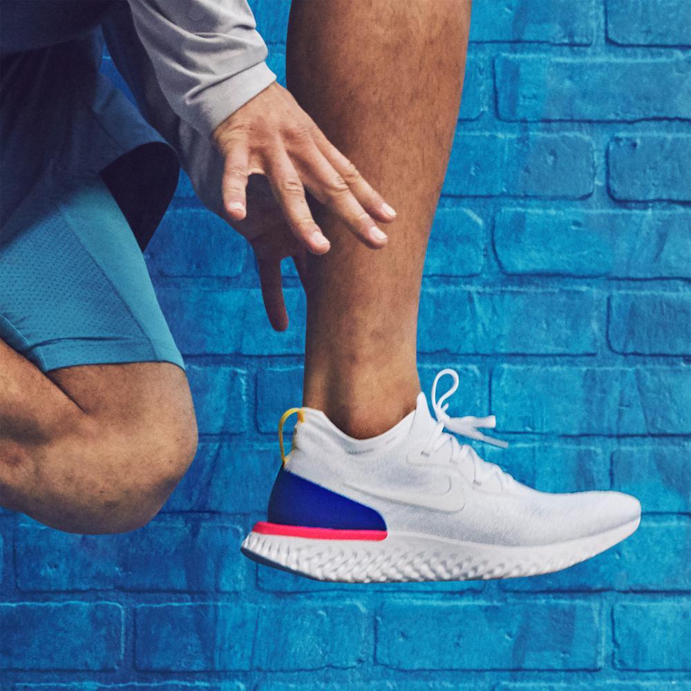 Nike - Blue Epic React Flyknit Men s Running Shoe for Men - Lyst d6874803f