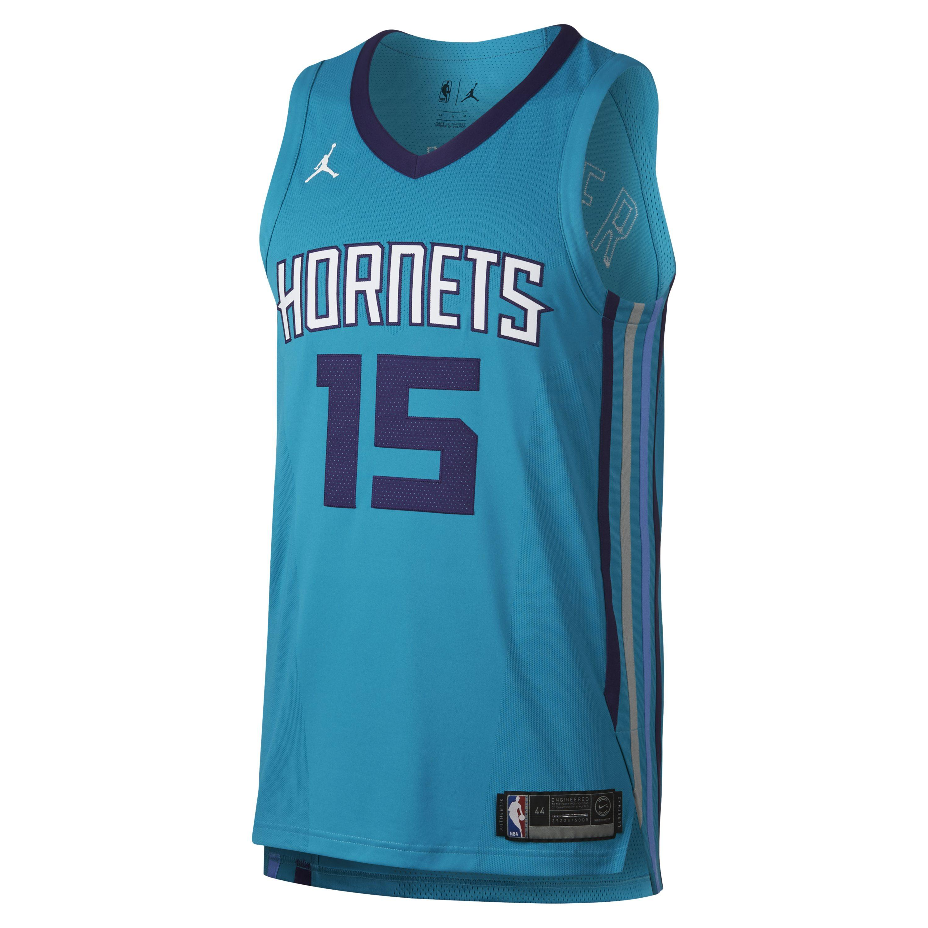 d8b6ed83ad8 Nike Kemba Walker Icon Edition Authentic Jersey (charlotte Hornets ...