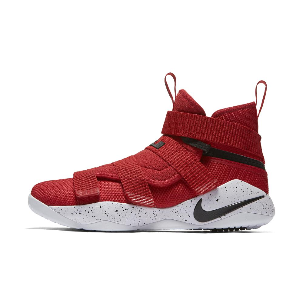 b4a64360f94 Lyst - Nike Lebron Soldier Xi Flyease Basketball Shoe in Red for Men ...