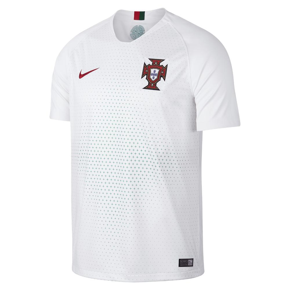 Lyst - Nike 2018 Portugal Stadium Away Men s Soccer Jersey in White ... 6797a6566