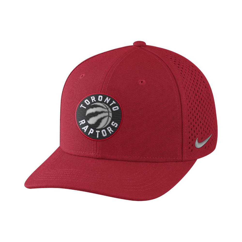 bee004a9dddec Nike Toronto Raptors Aerobill Classic99 Adjustable Nba Hat (red ...