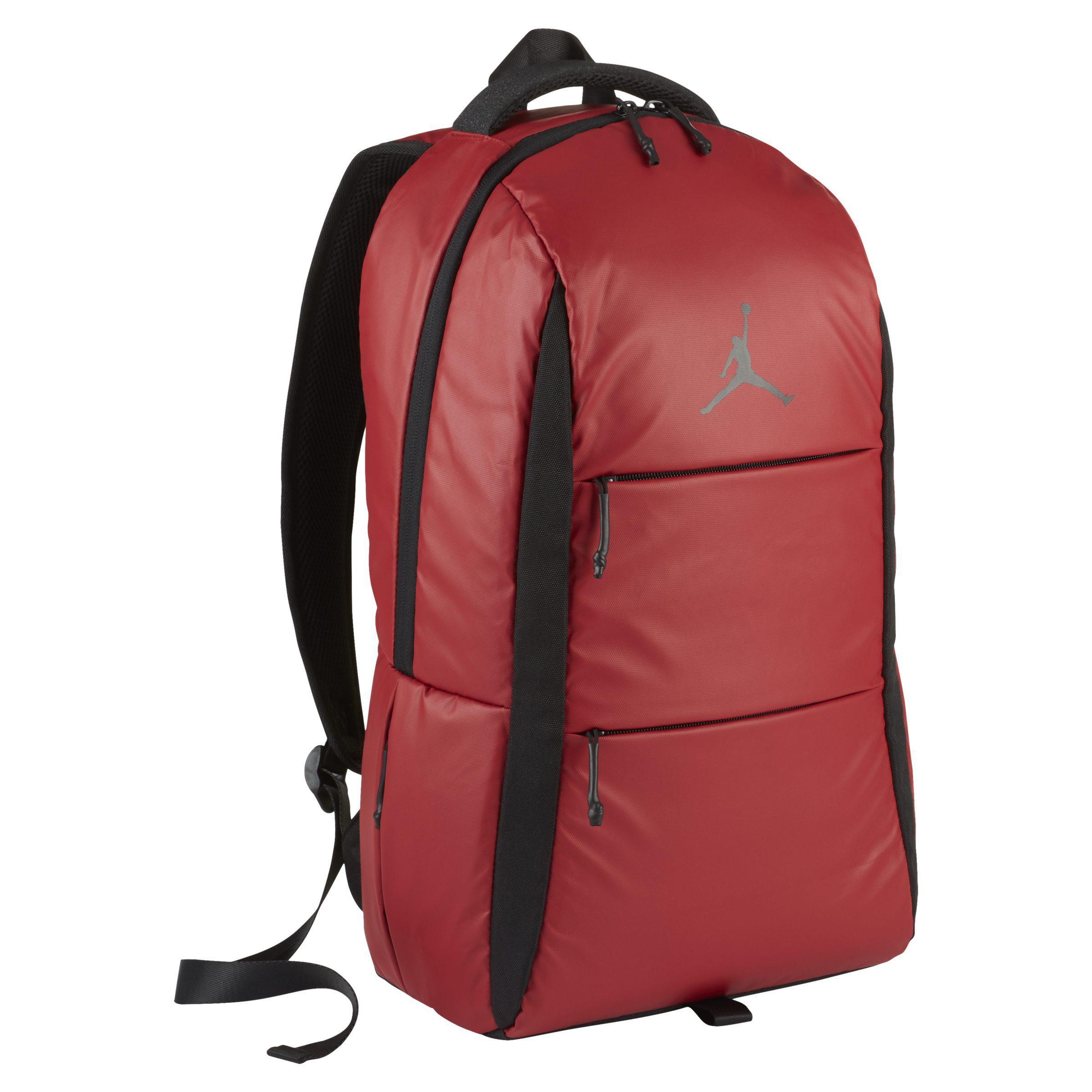 Nike jordan backpack in red lyst jpg 2400x2400 Jordan backpack 7997f68f97472