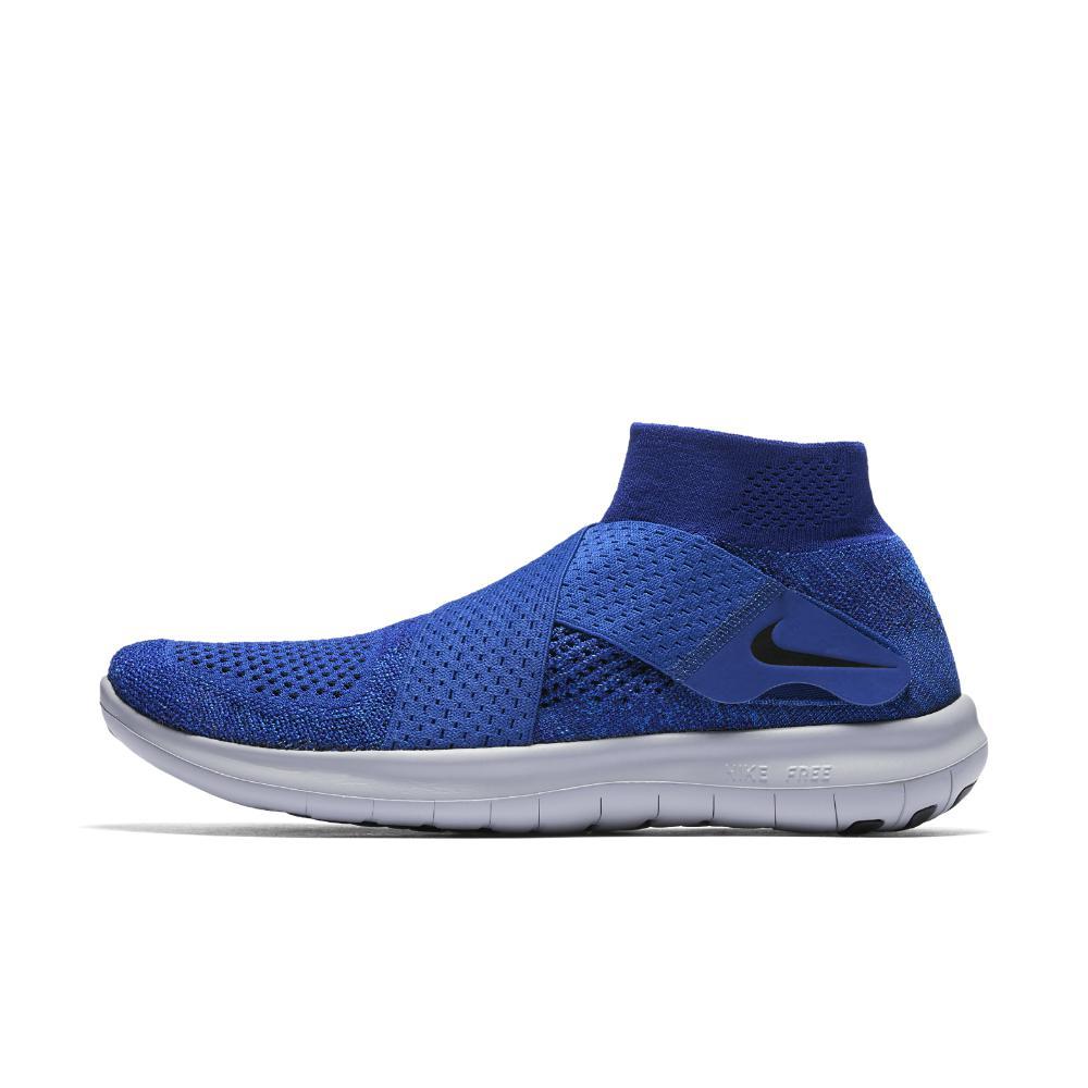 lyst nike libera rn proposta flyknit 2017 uomini in blu, scarpe da corsa