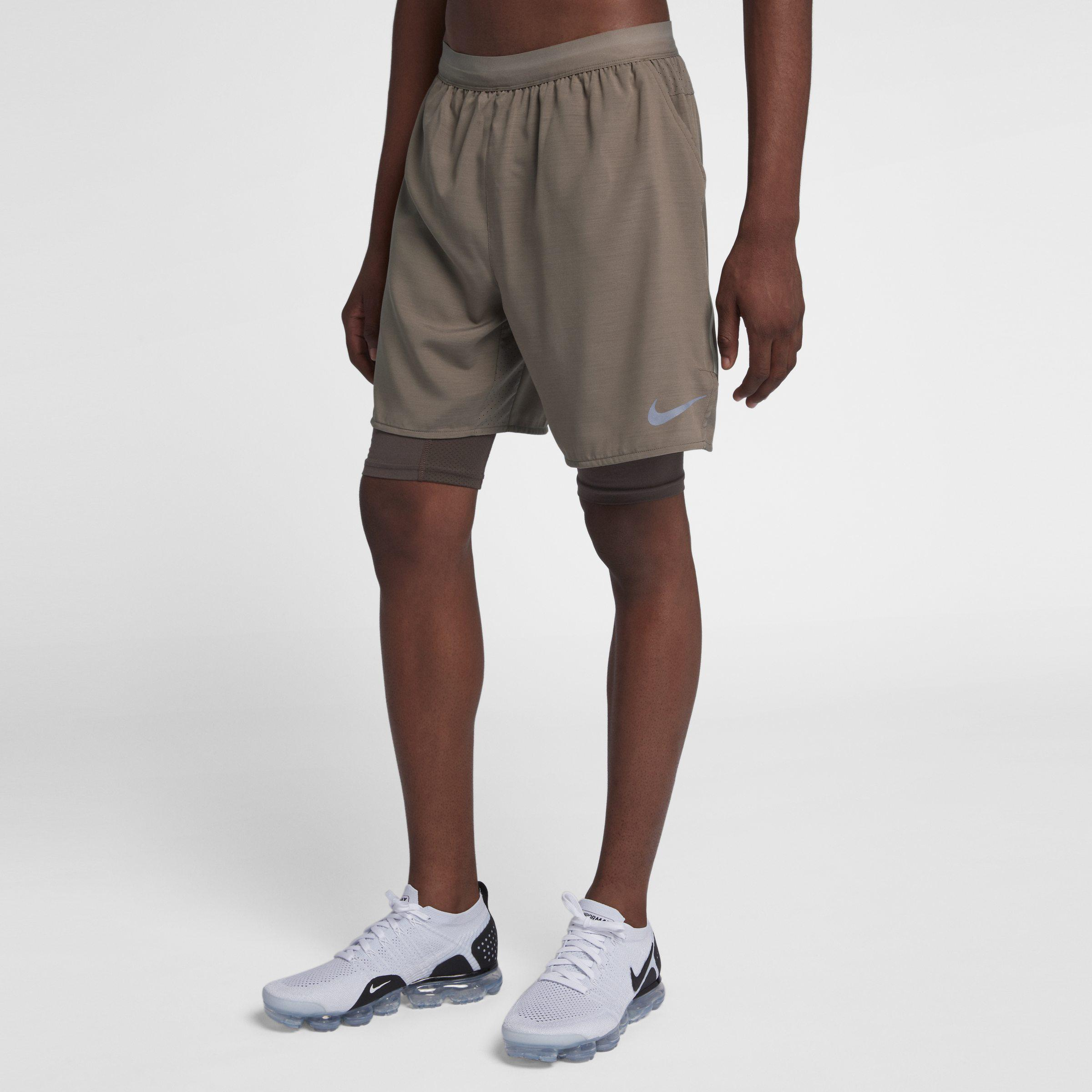 c1d606c092f7 Nike Flex Stride 2-in-1 Running Shorts in Brown for Men - Lyst