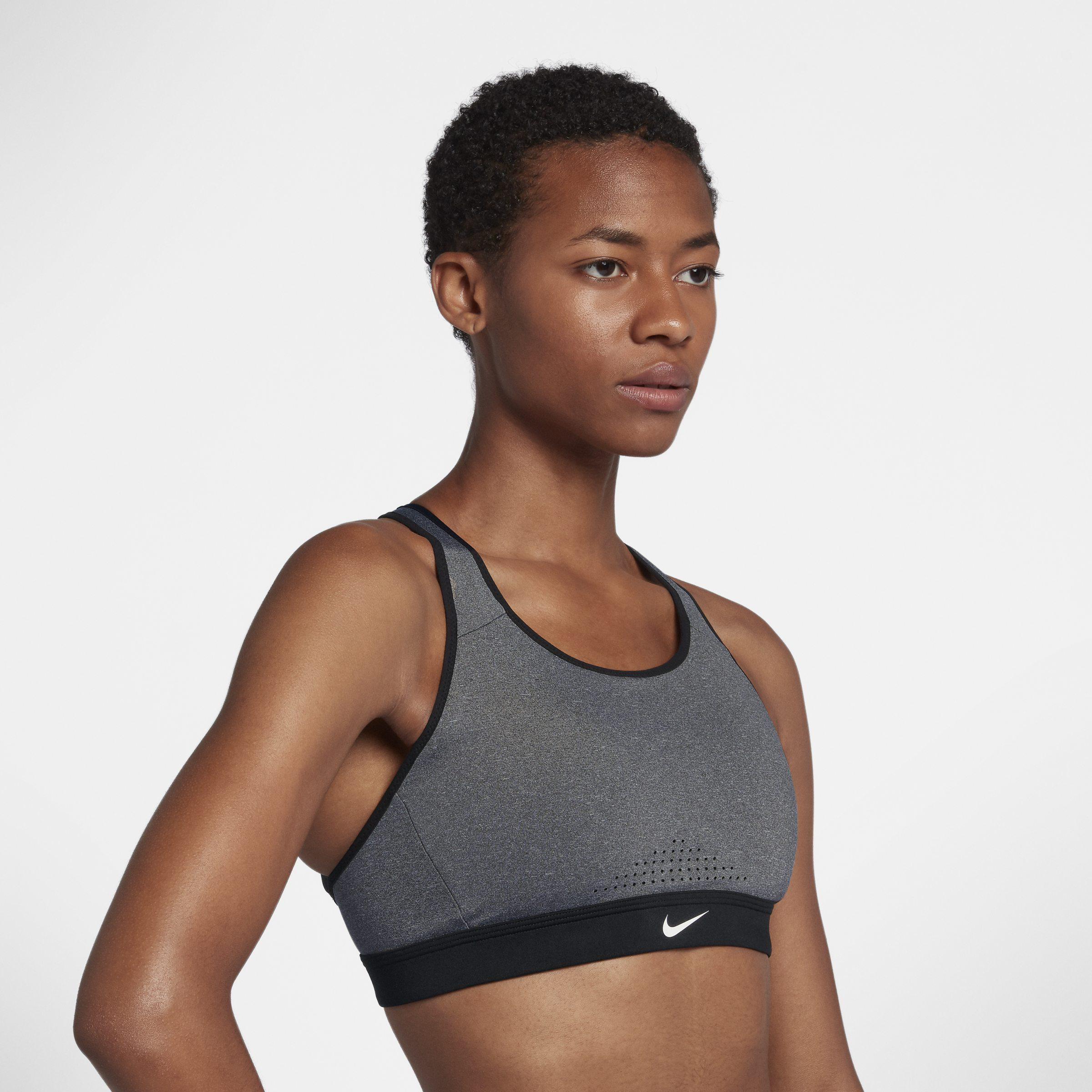2c926527c4 Nike - Gray Impact Strappy High-support Sports Bra - Lyst. View fullscreen