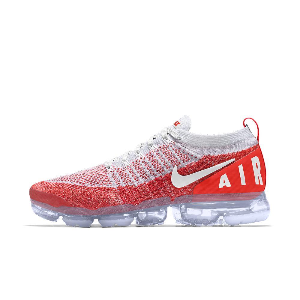 7ba872c12e5cb Nike Air Vapormax Flyknit 2 Id Men's Running Shoe in Red for Men - Lyst