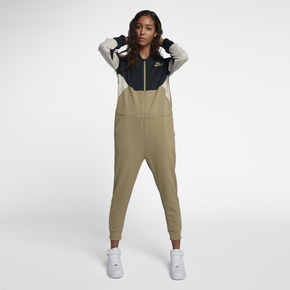 cfc5e38ed Nike Air Women's Jumpsuit in Black - Lyst