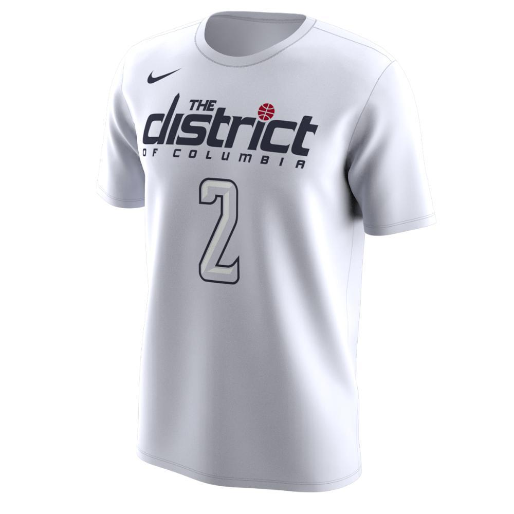 074c15b50 Nike. White Washington Wizards City Edition (john Wall) Dri-fit Men s Nba T- shirt
