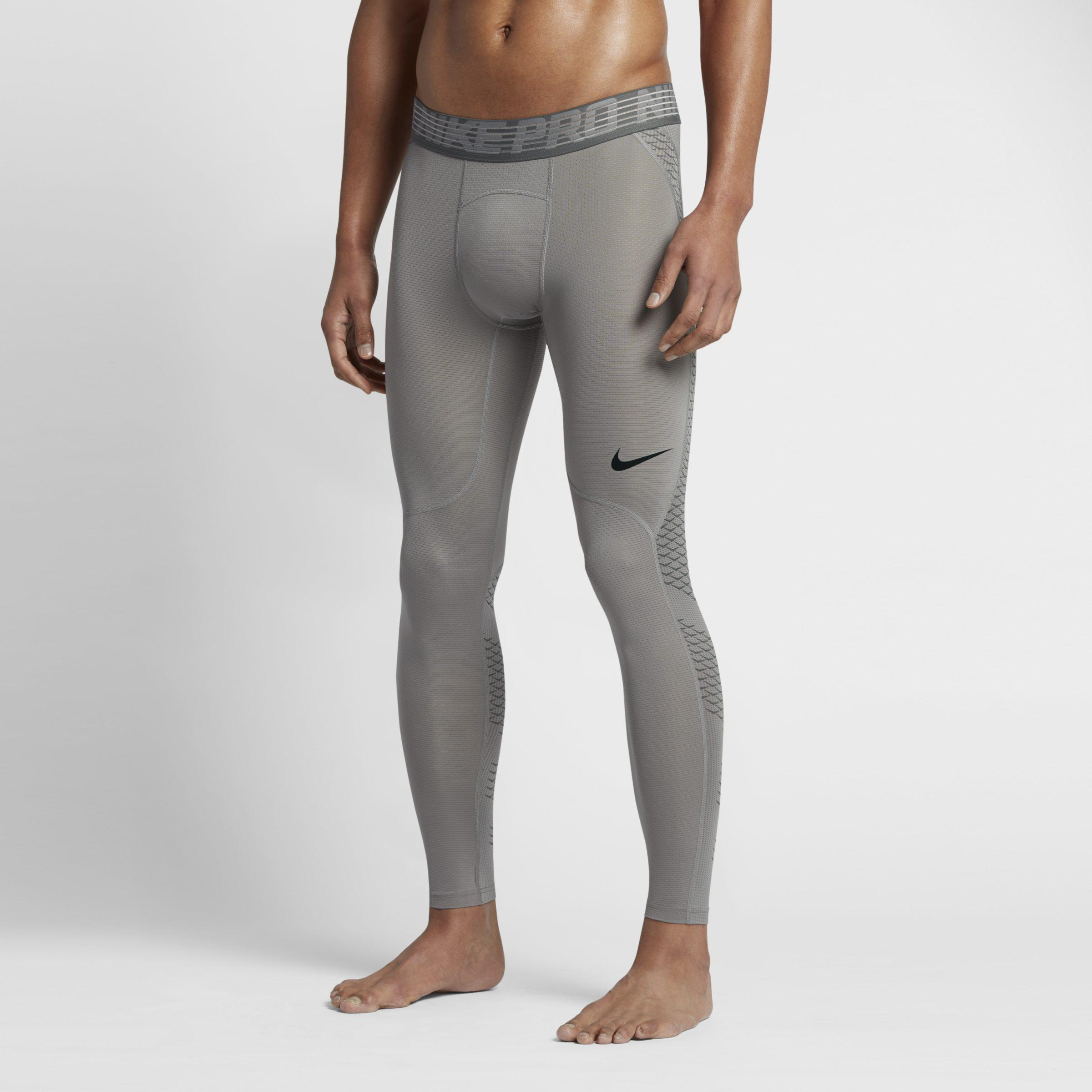 0a2d39014765a Nike Pro Hypercool Training Tights in Gray for Men - Lyst