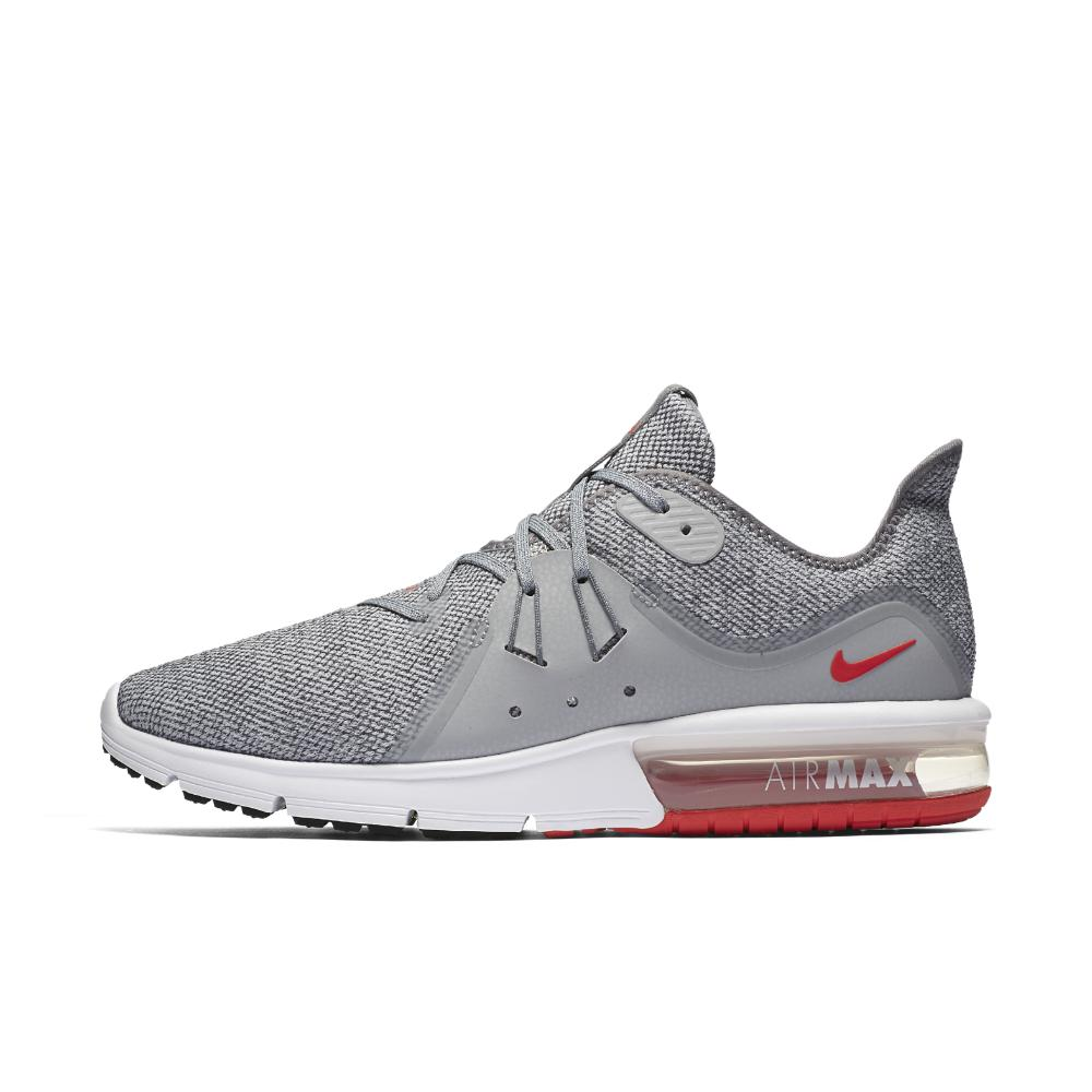 Nike. Gray Air Max Sequent 3 Men's Running Shoe