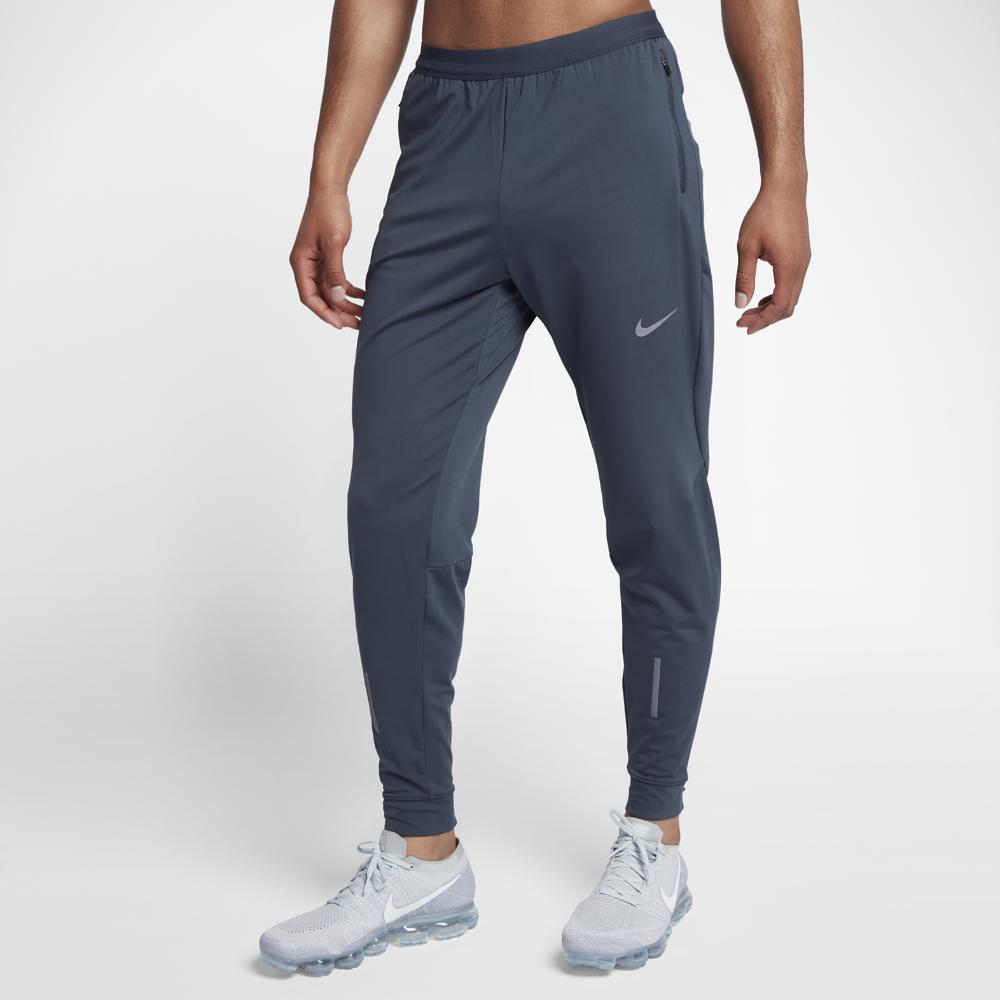 8bd6f9aae24e17 Lyst - Nike Dry Phenom Men s Running Pants in Blue for Men
