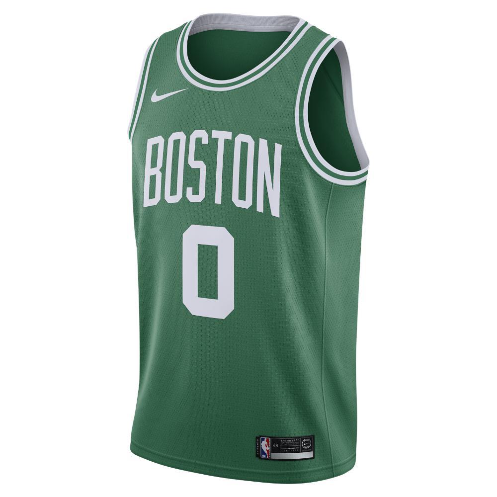 e34b3fe3249 Nike. Green Jayson Tatum Icon Edition Swingman Jersey (boston Celtics) Men s  Nba Connected Jersey