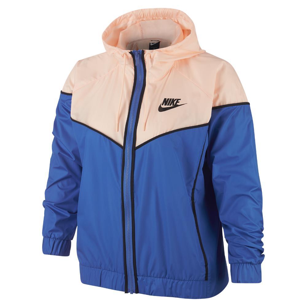 Lyst - Nike Sportswear Windrunner (plus in Blue - Save 41% e565fff55
