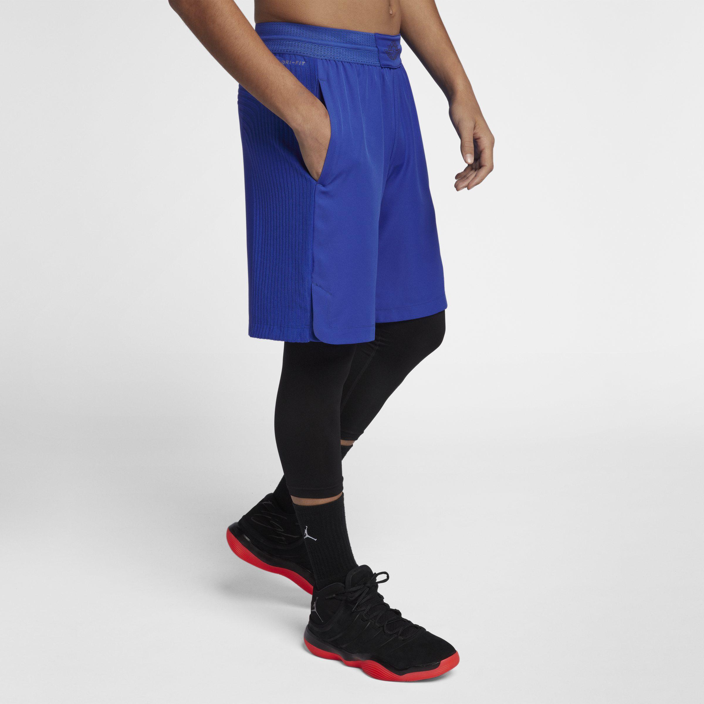 74fdf3fd39af Nike Jordan Ultimate Flight Basketball Shorts in Blue for Men - Lyst