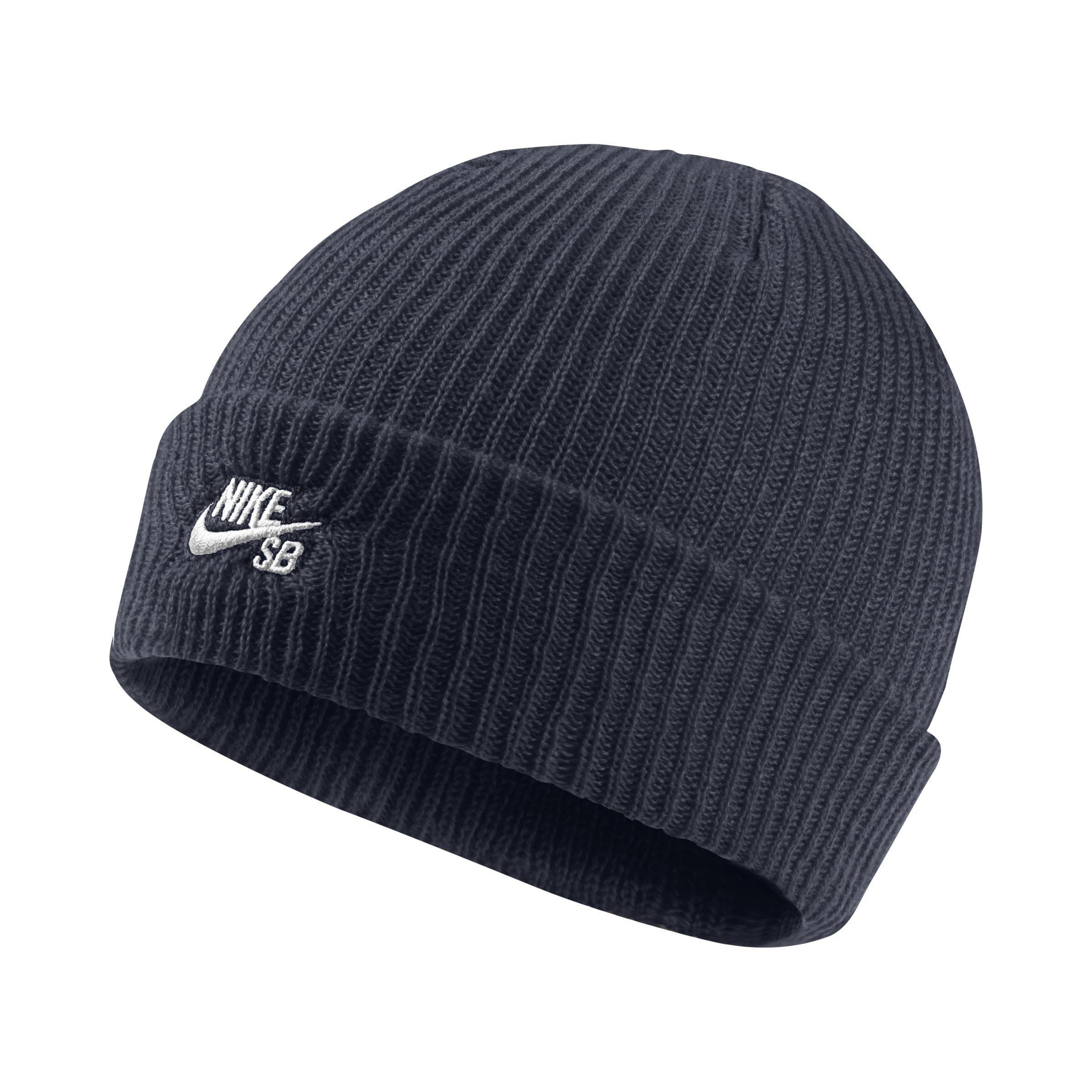 b7a0215b9c9872 ... shop nike. womens blue sb fisherman knit hat 139f0 ab455