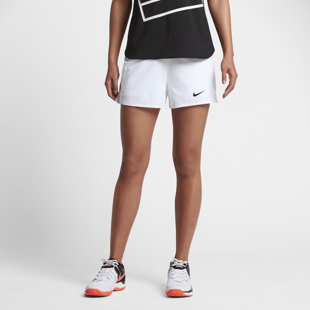 Lyst - Nike Court Flex Pure Women s Tennis Shorts aac046ad6