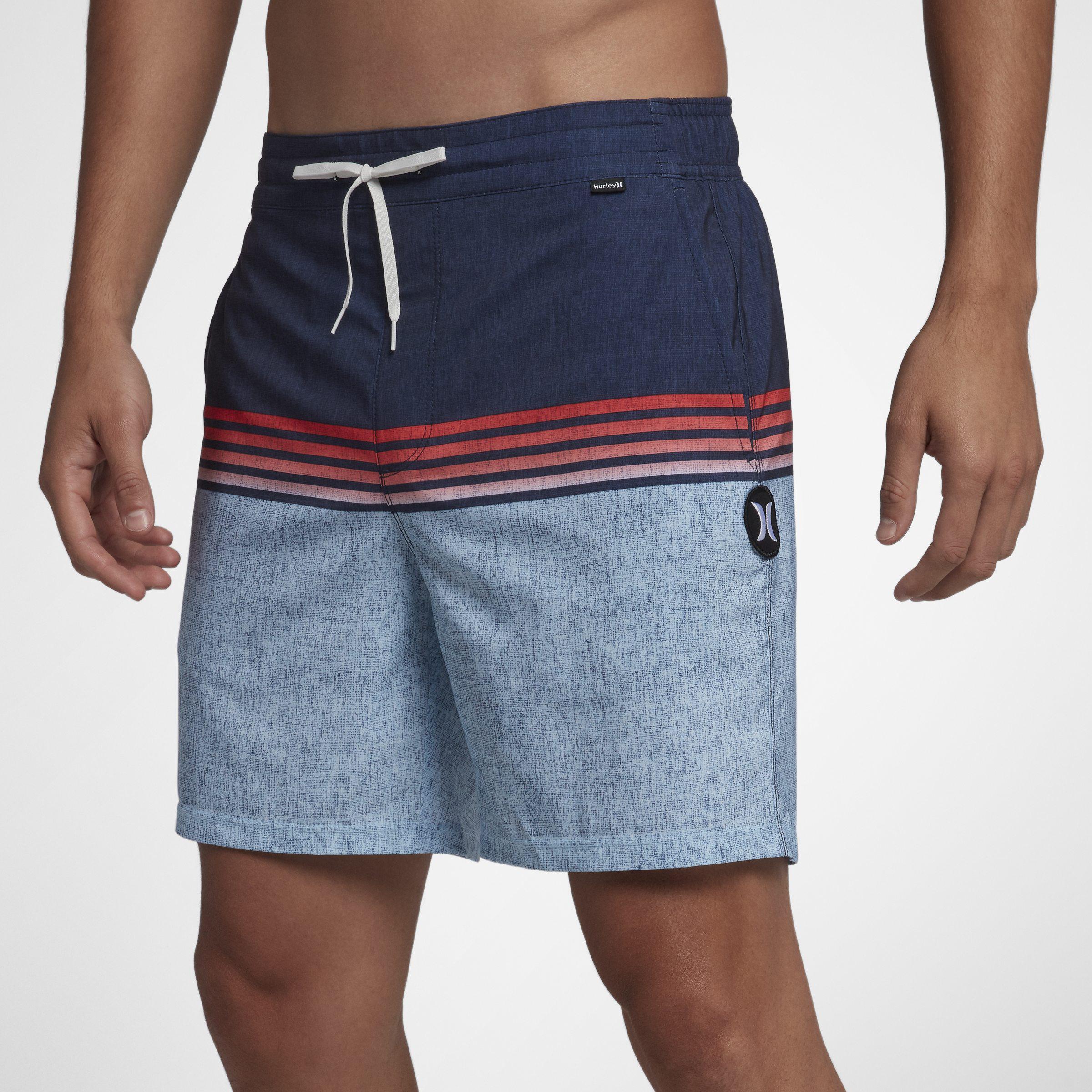 de30fa9617 Nike Hurley Phantom Surfside Volley 43cm Boardshorts in Blue for Men ...