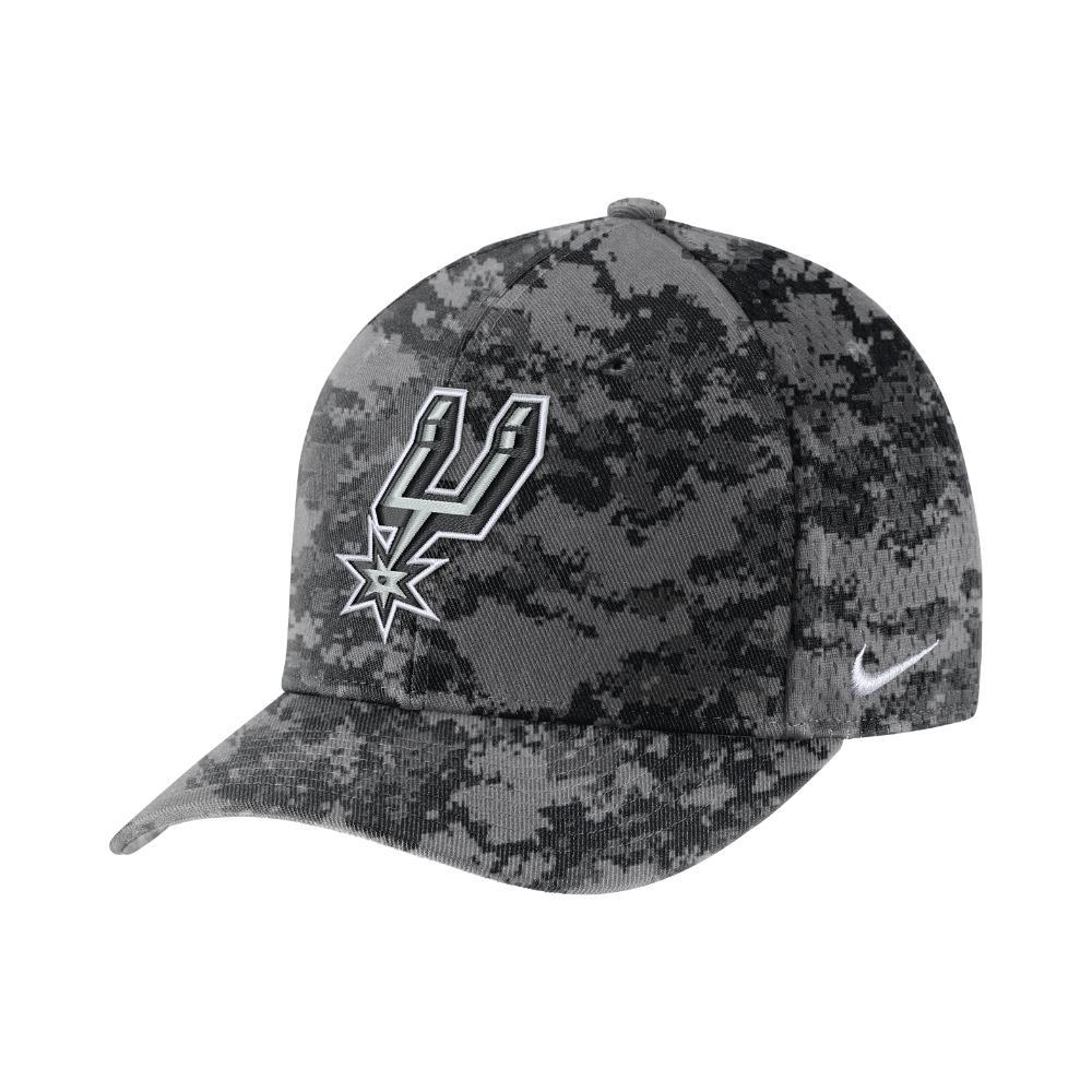 7f7848e4b96 Lyst - Nike San Antonio Spurs City Edition Classic99 Nba Hat (grey ...