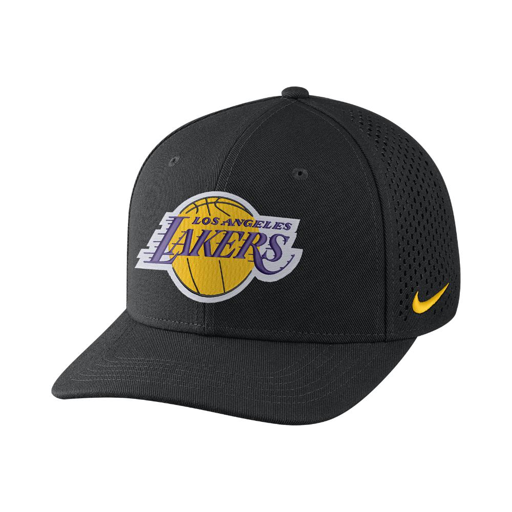 3012fb9cdda Lyst - Nike Los Angeles Lakers Aerobill Classic99 Adjustable Nba Hat ...