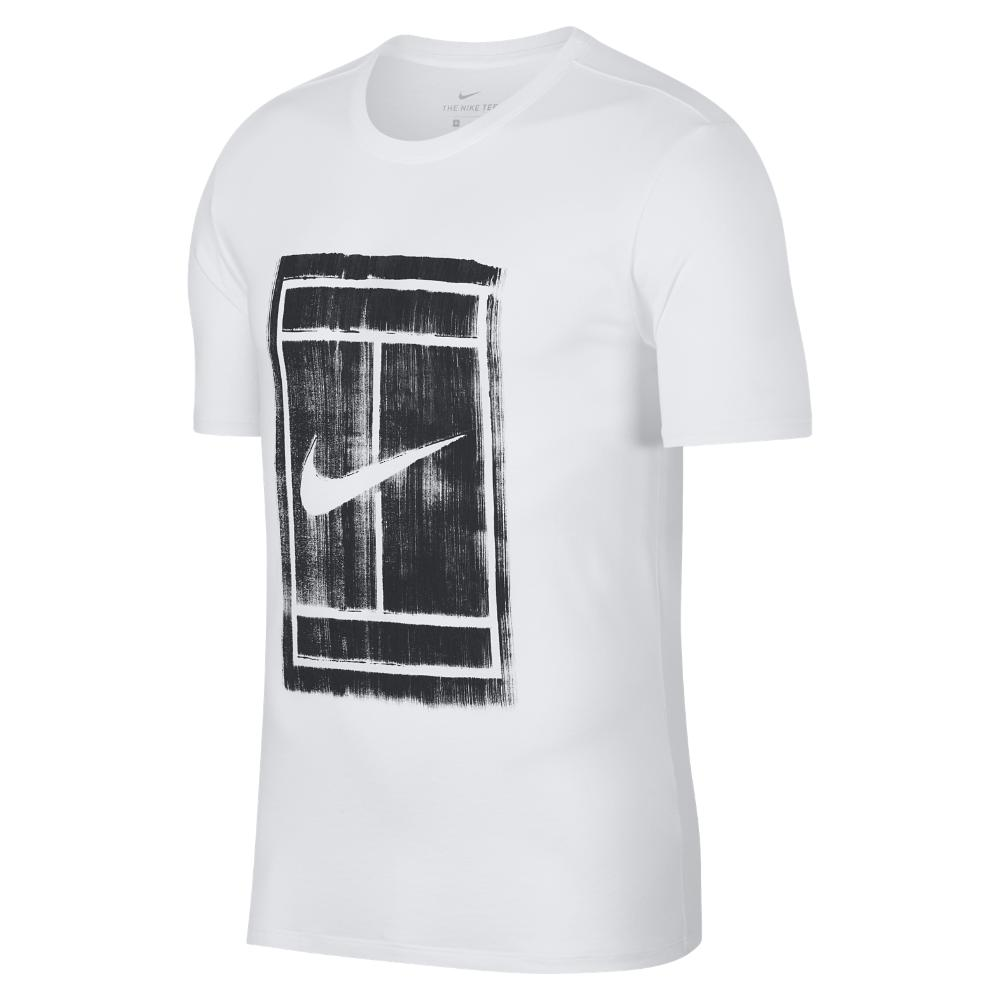 7f0142bfc17d4a Lyst - Nike Court Men s Tennis T-shirt in White for Men