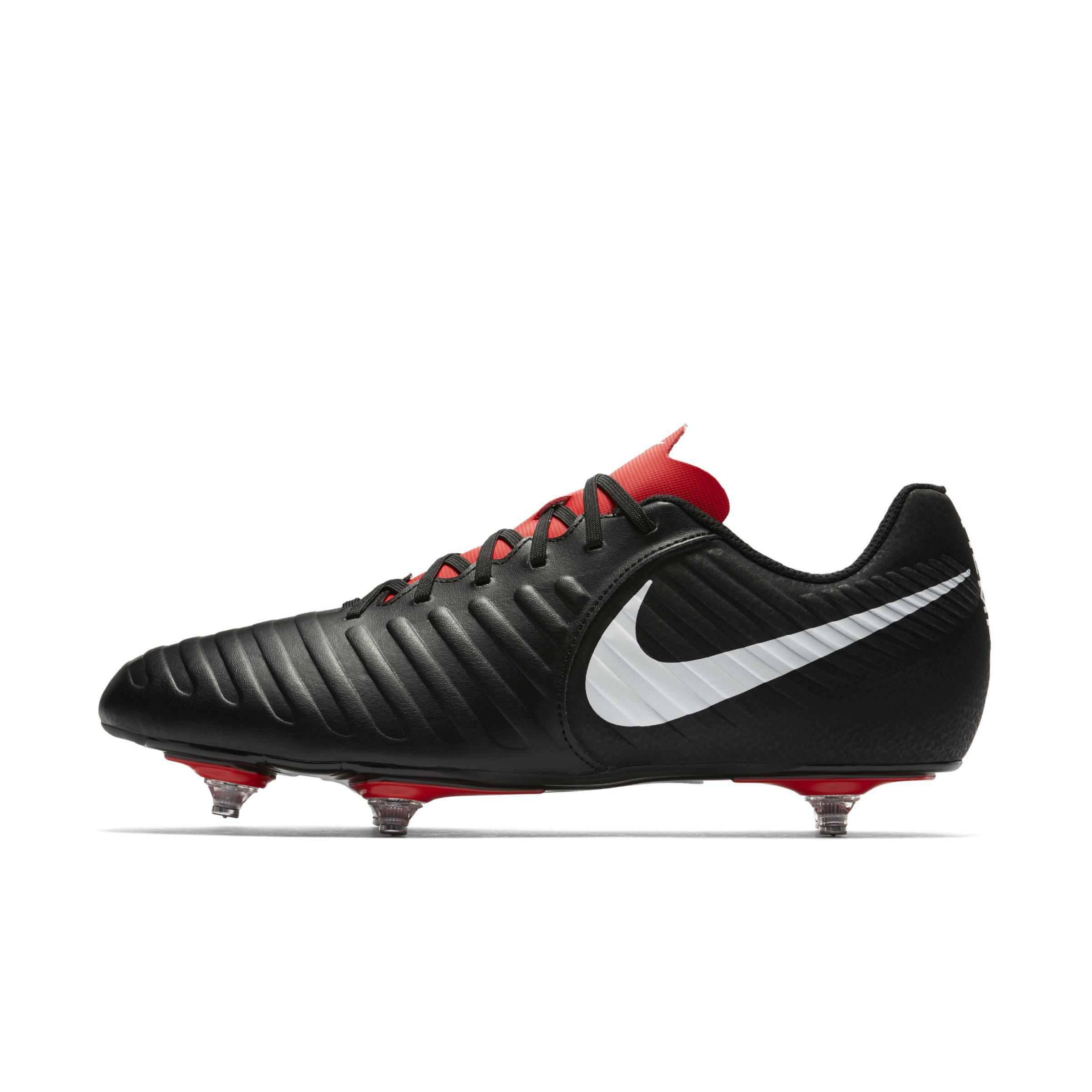 b0ea4f06916b Nike Tiempo Legend Vii Club Soft-ground Football Boot in Black - Lyst