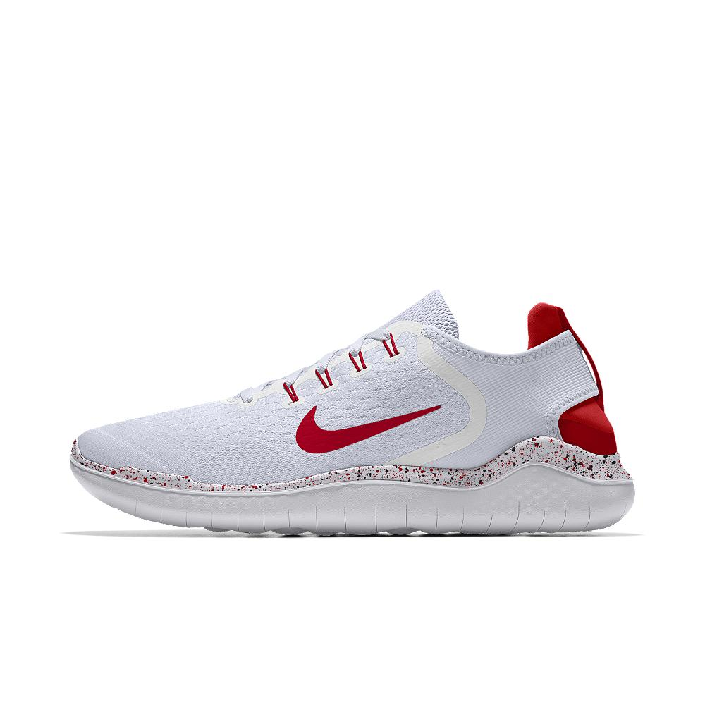 bd0cce7a0855 Lyst - Nike Free Rn 2018 Id Women s Running Shoe in White