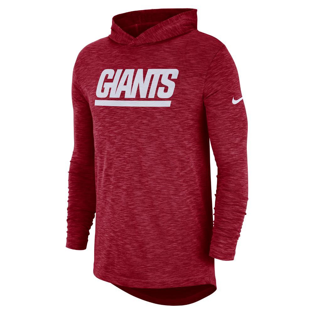 Lyst - Nike Dri-fit On-field (nfl Giants) Men s Hooded Long Sleeve ... 08da854c4