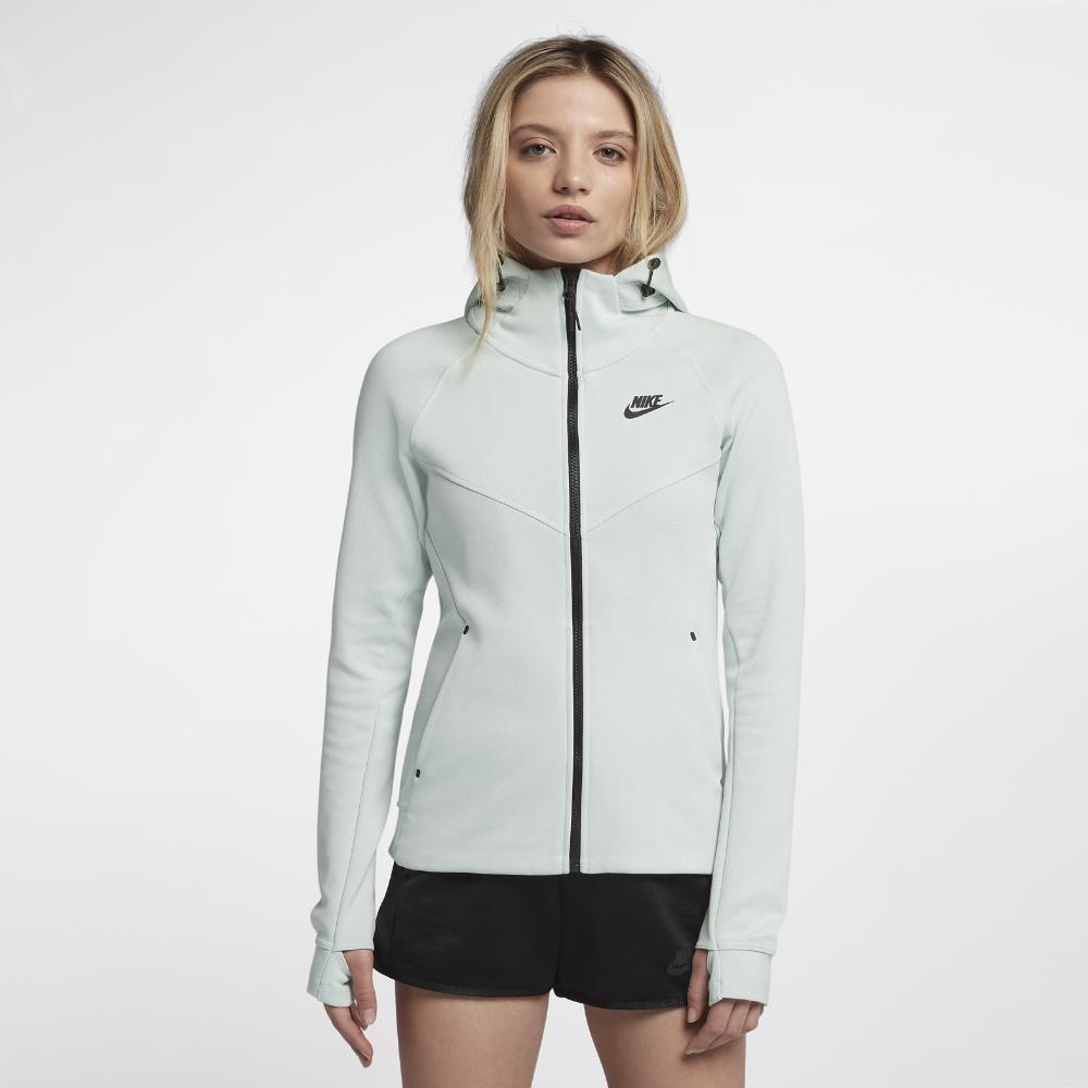 2802f73b5fac Nike - Gray Sportswear Tech Fleece Windrunner Women s Full-zip Hoodie -  Lyst. View fullscreen