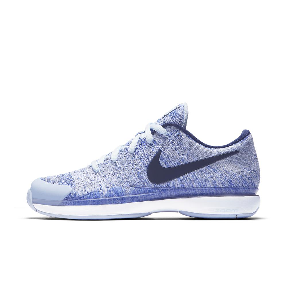 2cfc133eabc8 Lyst - Nike Court Zoom Vapor Flyknit Hard Court Women s Tennis Shoe ...
