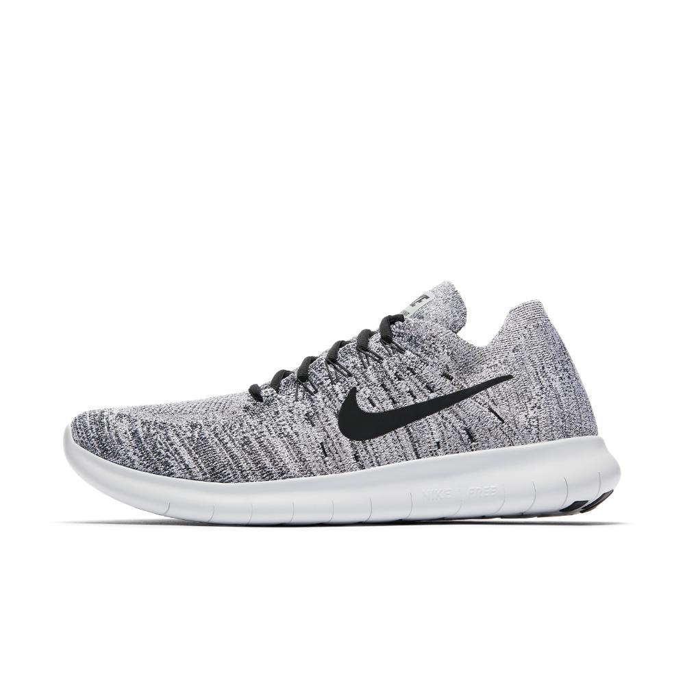 e76a9553e7e Lyst - Nike Free Rn Flyknit 2017 Men s Running Shoe in White for Men
