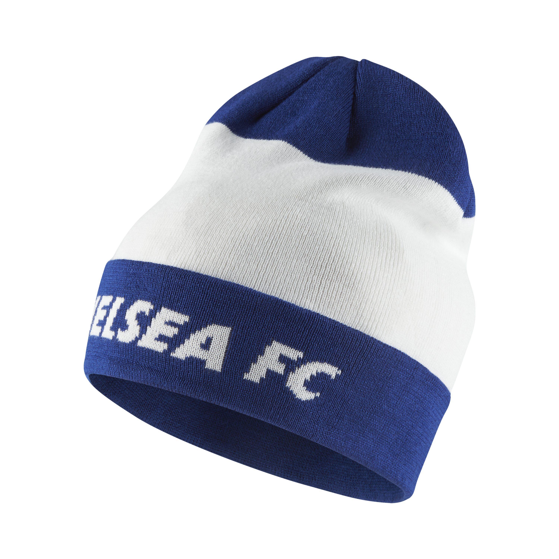 6cef9ad3e82 Nike Chelsea Fc Beanie in White for Men - Lyst