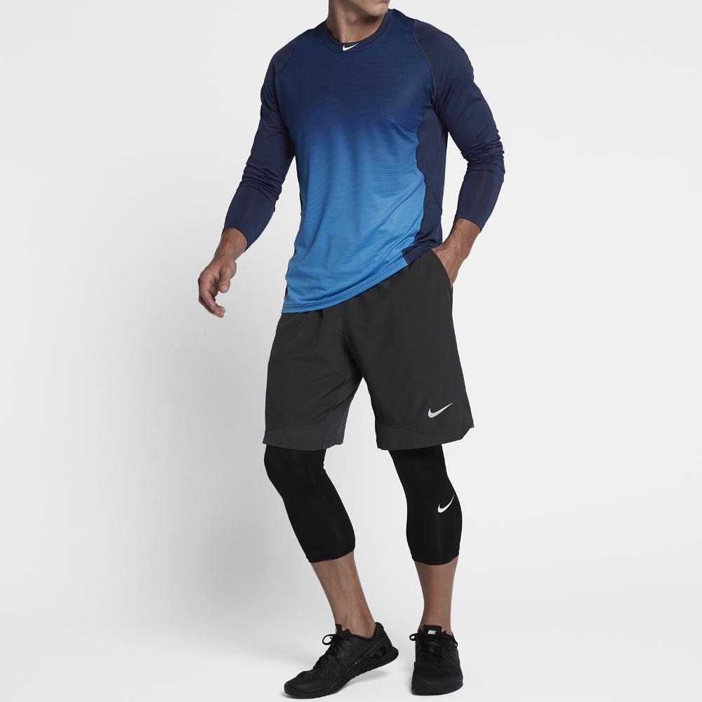 82ef76147c4c Lyst - Nike Pro Hypercool Men s Long Sleeve Baseball Top in Blue for Men