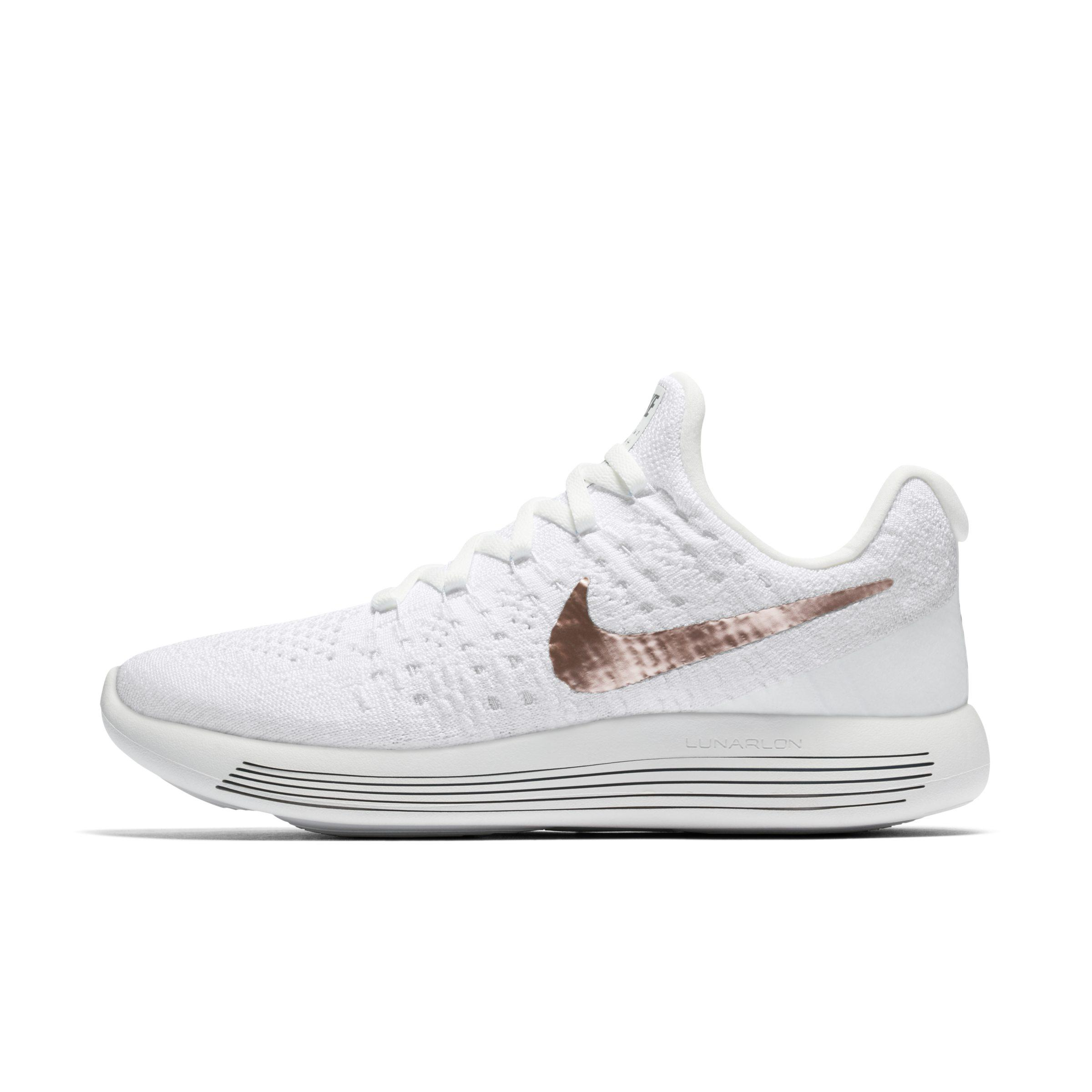 f85c9aa54454 Nike Lunarepic Low Flyknit 2 Explorer Running Shoe in White - Lyst